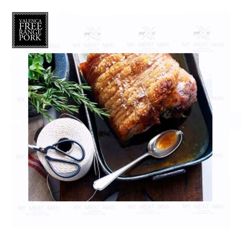 Australian Frozen Valenca Free Range Pork Loin Porterhouse Roast