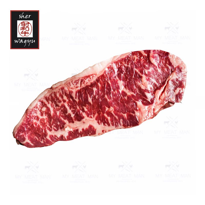 Australian Frozen Sher Wagyu Black Label MB9 Sirloin Steak