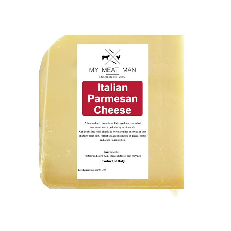 Italian super fresh Parmesan