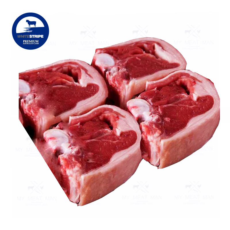 Australian Frozen Grass Fed White Stripe Premium Lamb Loin Chops