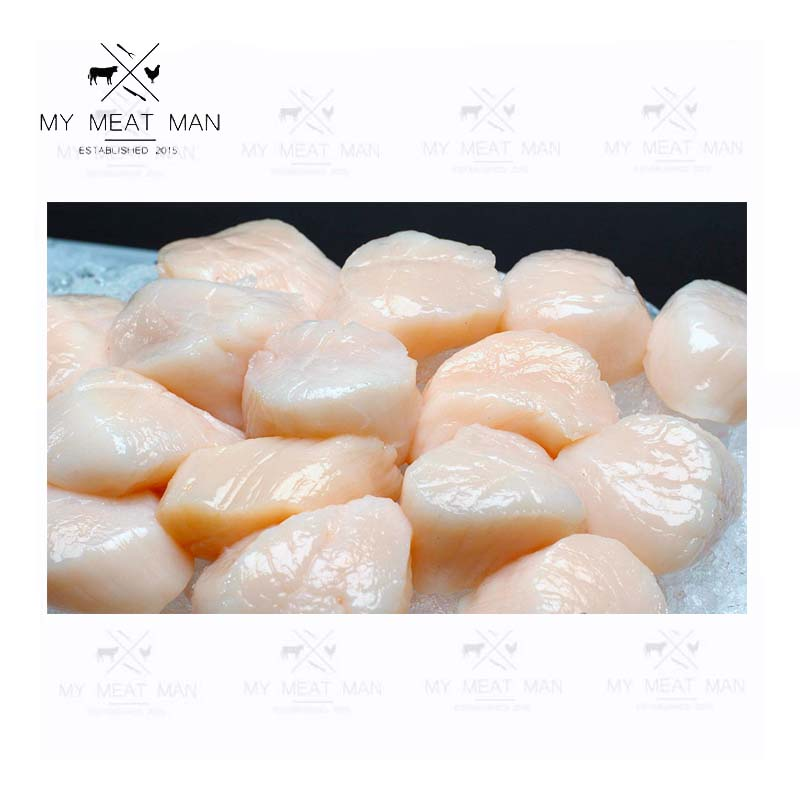 Wild Atlantic Ocean Frozen Sea Scallop  - sashimi grade