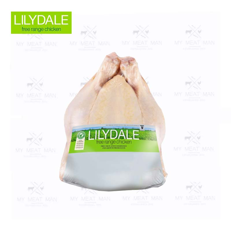 Australian Frozen Lilydale Accredited Free Range Whole Chicken