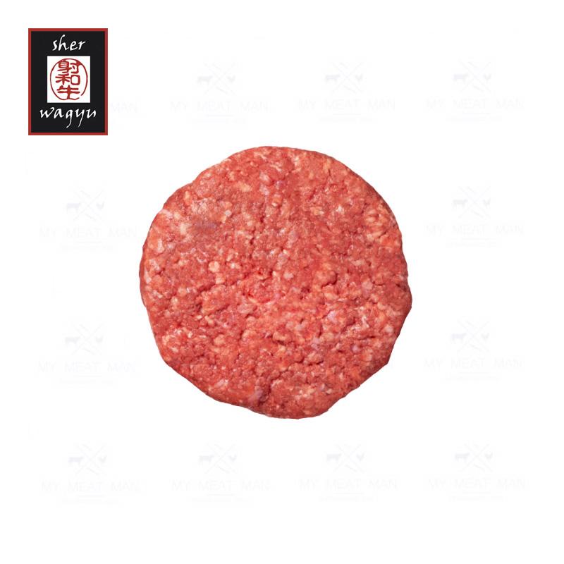 Australian Frozen Sher Wagyu MB8-9 Beef Hamburger - 110g