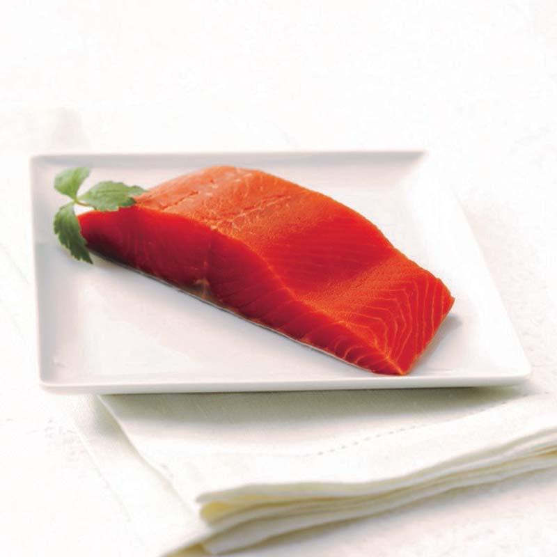 Wild Canadian Frozen Sockeye Salmon Fillet  - sashimi grade