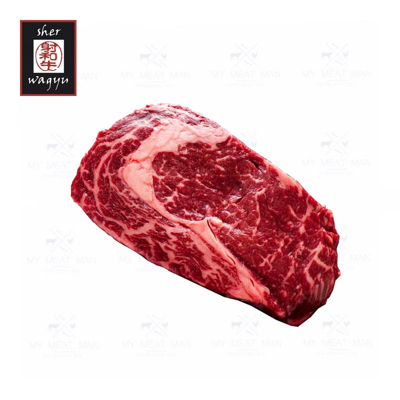 Australian Frozen  Sher Wagyu Black Label MB9 Rib Eye Steak