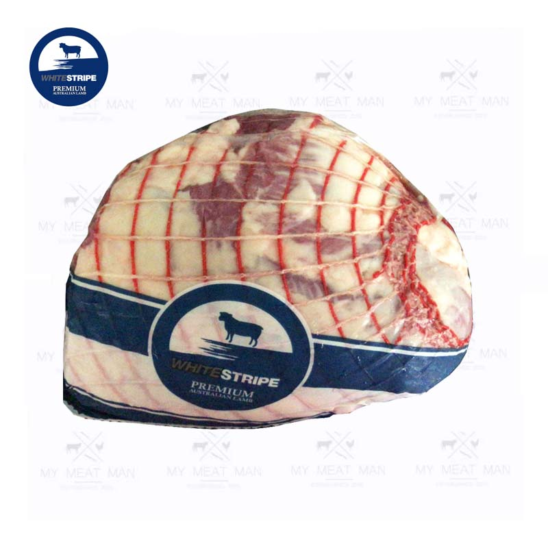 Australian Chilled Grass Fed White Stripe Premium Lamb Leg Boneless