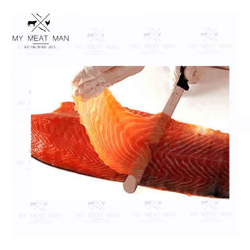 Wild Canadian Frozen Certified Organic Smoked King Salmon