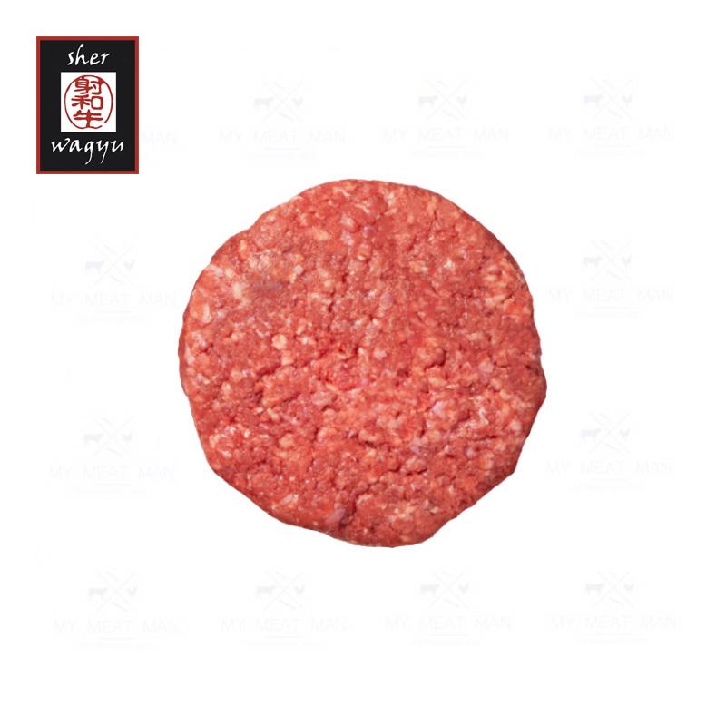Australian Frozen Sher Wagyu MB8-9 Beef Hamburger - 180 g