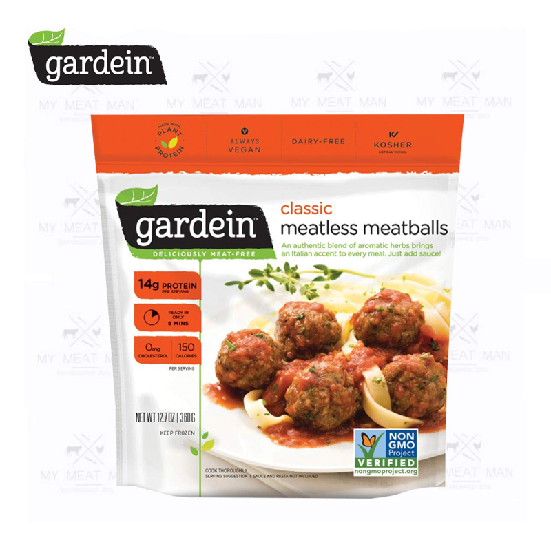 Gardein Plant-Based Frozen Classic Meatless Meatballs