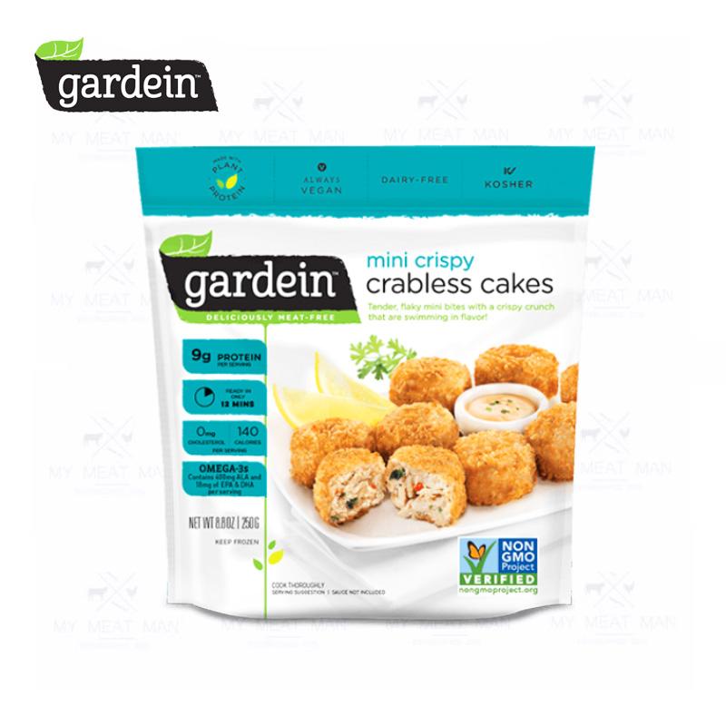 Gardein Plant-Based Frozen Mini Crispy Crabless Cakes