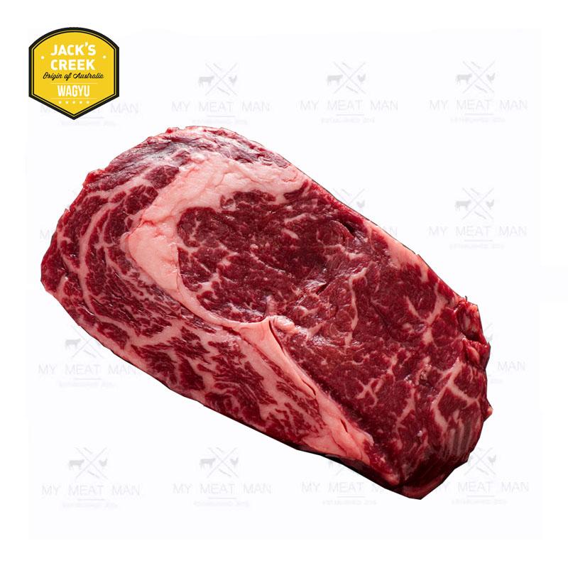 Australian Frozen Grain Fed Jack's Creek F1 MB6-7 Wagyu Ribeye Steak