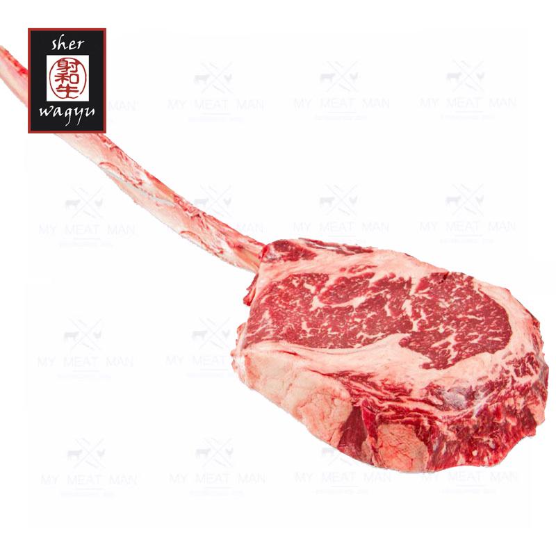 Australian Frozen Sher Wagyu MB 6-7 Tomahawk Steak