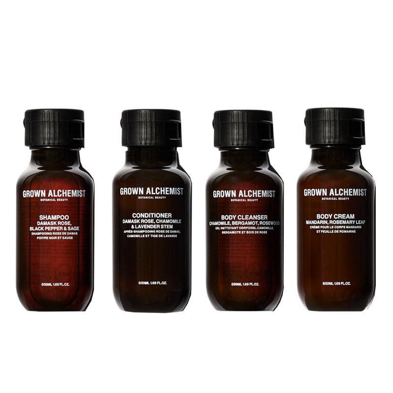 Grown Alchemist Travel Essentials Kit - 50 ml each