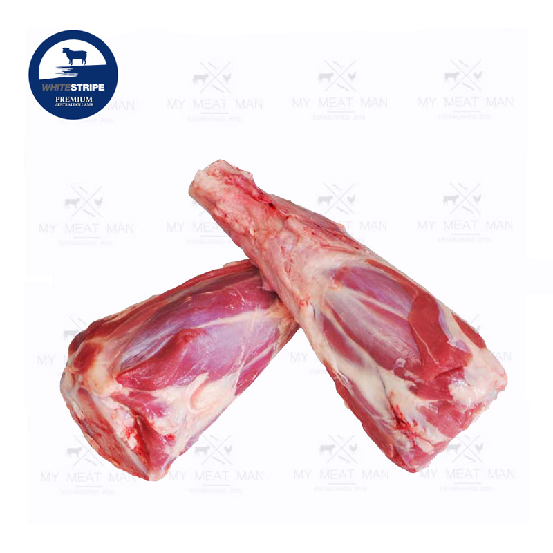 Australian Frozen Grass Fed White Stripe Premium Lamb Shank Bone In