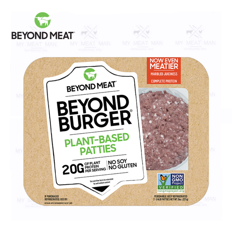 Beyond Meat Beyond Burger Plant-Based Frozen Patties